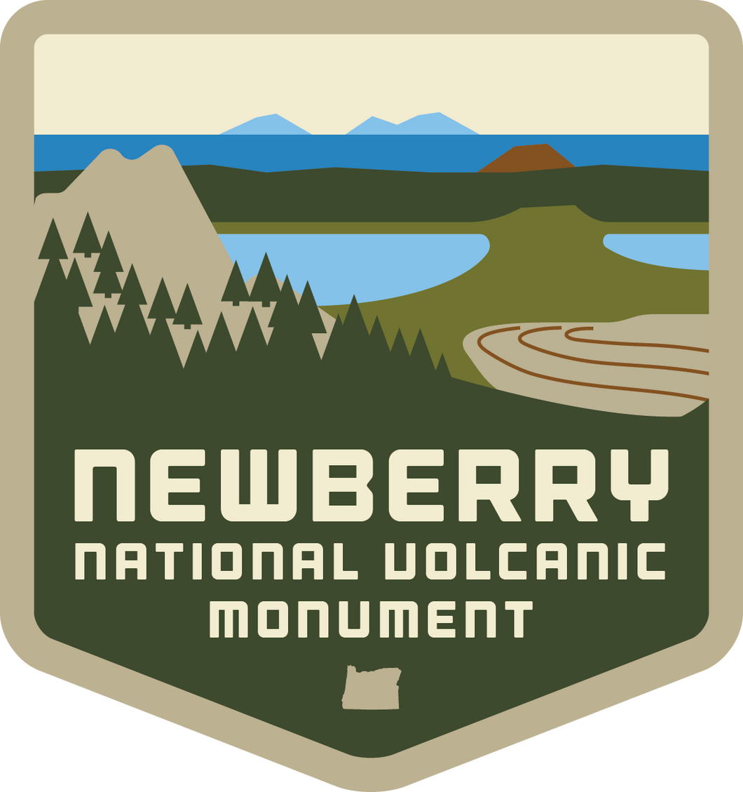 Newberry National Volcanic Crater - Patch
