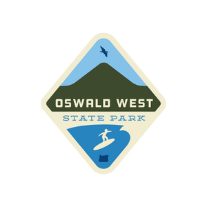 Oswald West State Park Sticker