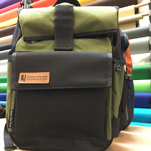 Foundation Edition Roll Top Black Star Backpack