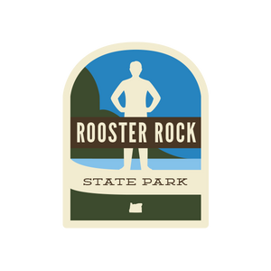 Rooster Rock State Park Sticker