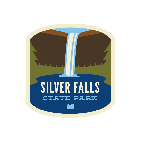 Silver Falls State Park Sticker