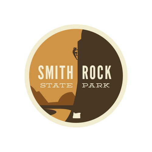 Smith Rock State Park Sticker