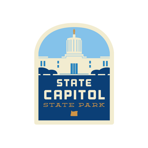 State Capitol State Park Sticker
