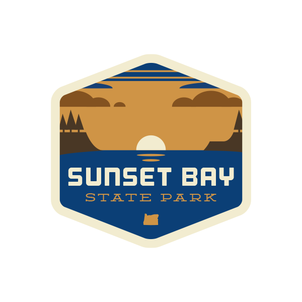 Sunset Bay State Park Sticker