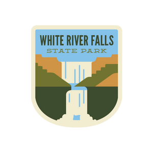 White River Falls State Park Sticker