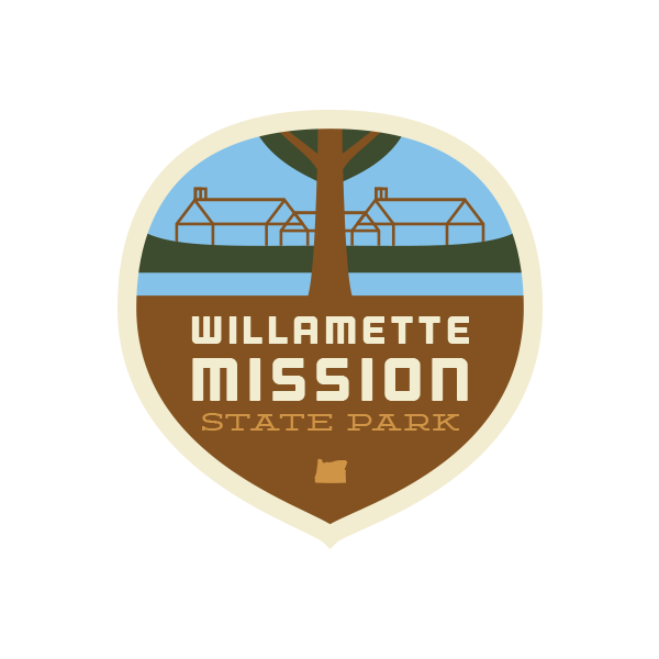 Willamette Mission State Park Sticker