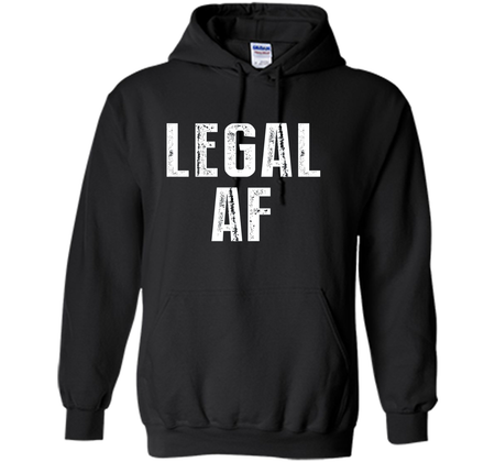 Funny 21st Birthday Gift T Shirt Legal AF 21 Years Old Tee Pullover