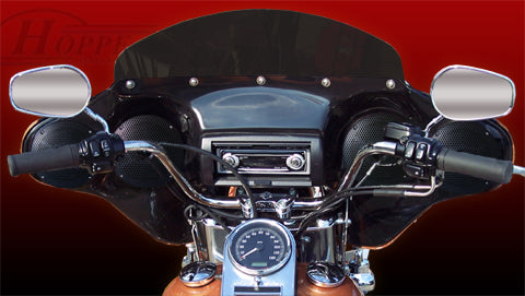 Hoppe Audio Quadzilla Fairing ( Fat Boy 99 to present, Heritage Softail 2000 to present, SLIM, Softail Deluxe )