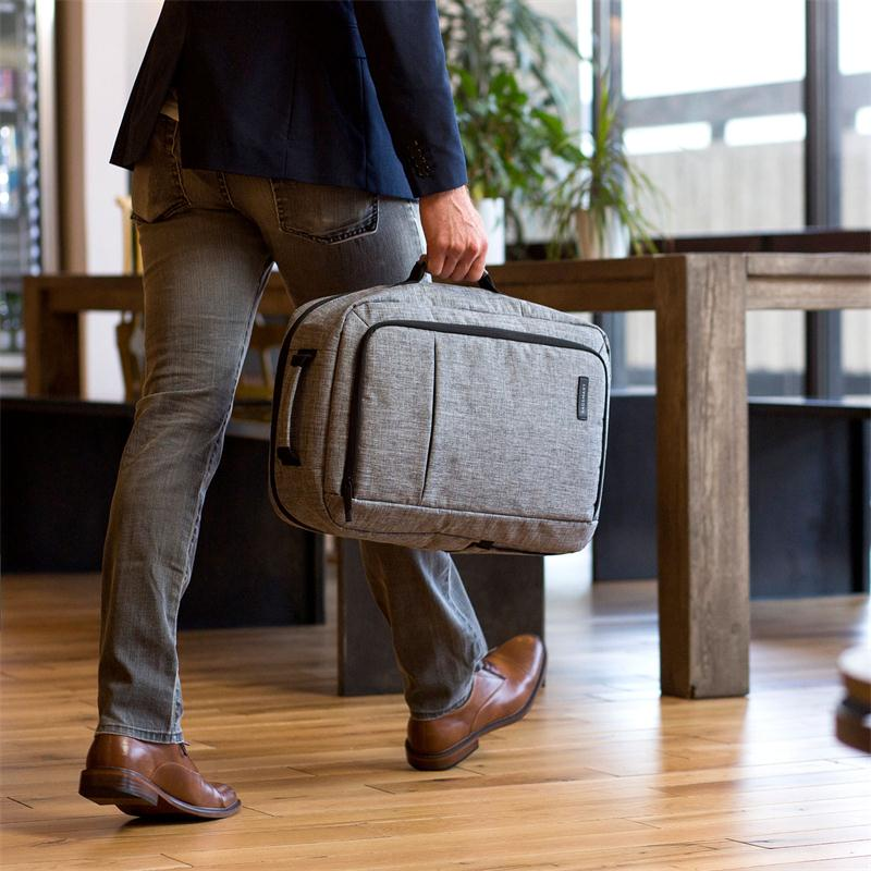 2-IN-1 CONVERTIBLE TRAVEL BRIEFCASE/BACKPACK