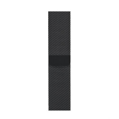 Milanese Black Apple Watch Band