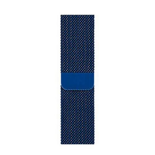 Milanese Blue Apple Watch Band