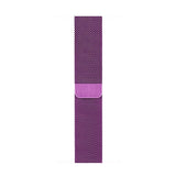 Milanese Purple Apple Watch Band