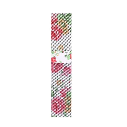 Milanese Rose Flower Apple Watch Band