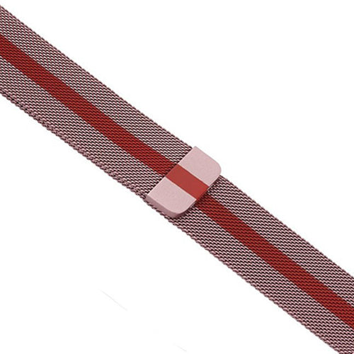 Milanese Rose Red Apple Watch Band