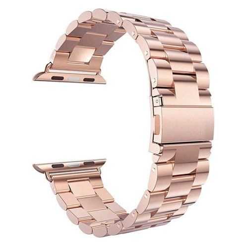 Stainless Steel Watch Band Rose Gold