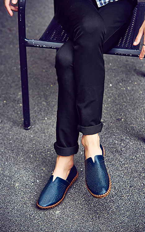 THE BEACHCOMBER PERFORATED CASUAL LOAFERS