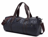 Soft Duffle Brown Black Angle