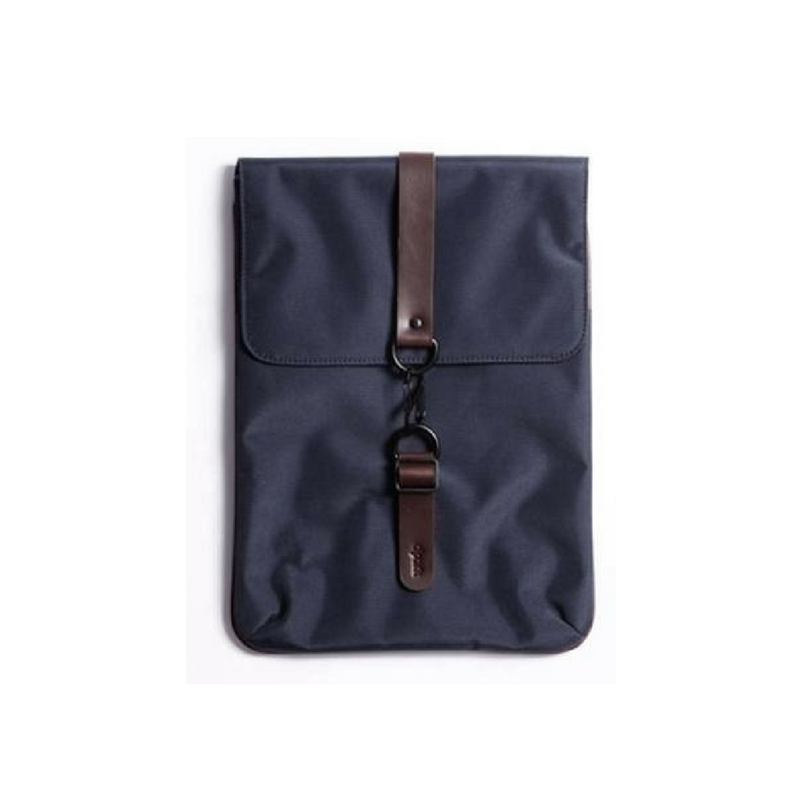 Nylon Laptop Sleeve Dark Blue