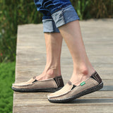 urban beach loafer brown person wearing side view thumb