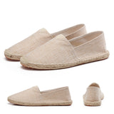 men's basic espadrilles khaki different shoe angles thumb