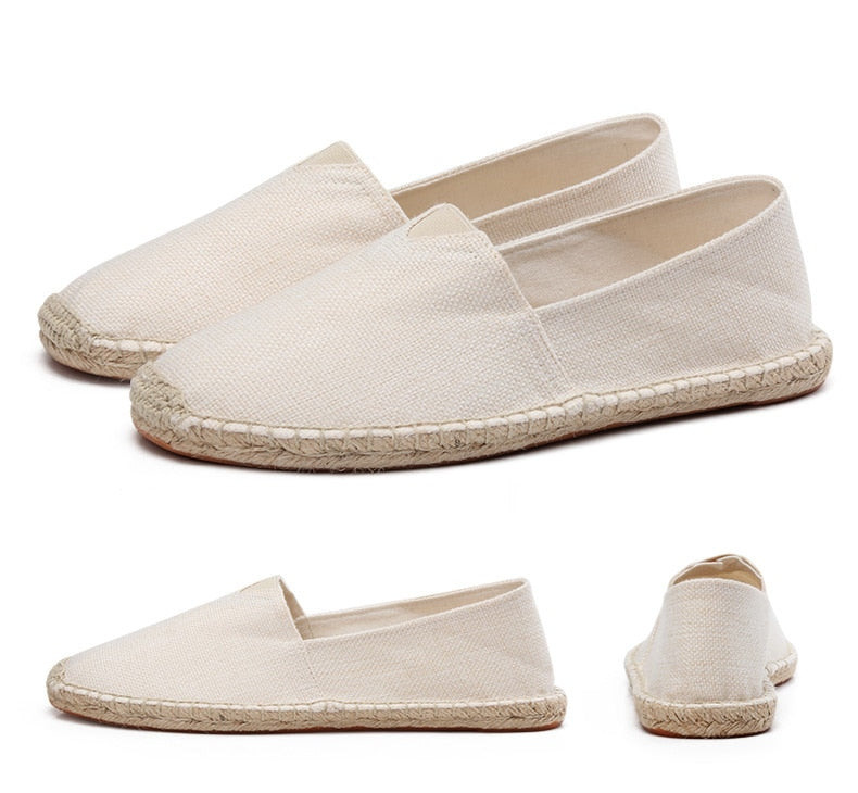 men's basic espadrilles beige different thumb