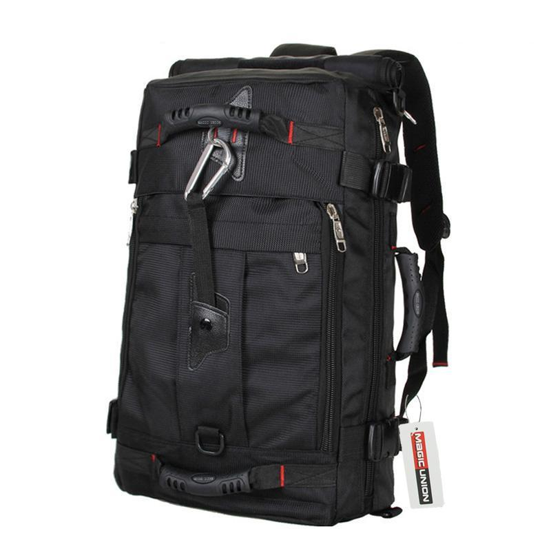 Multi-Purpose Backpack Black