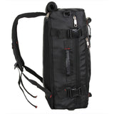 Multi-Purpose Backpack Black Side