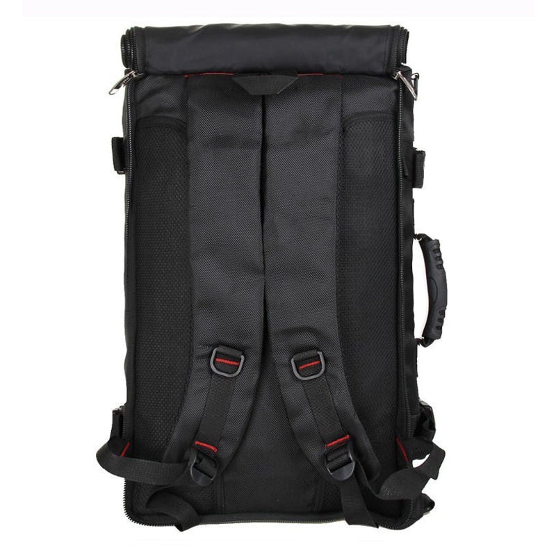 Multi-Purpose Backpack Black Shoulder Straps