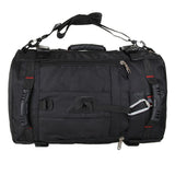 Multi-Purpose Backpack Black Converted To Duffle