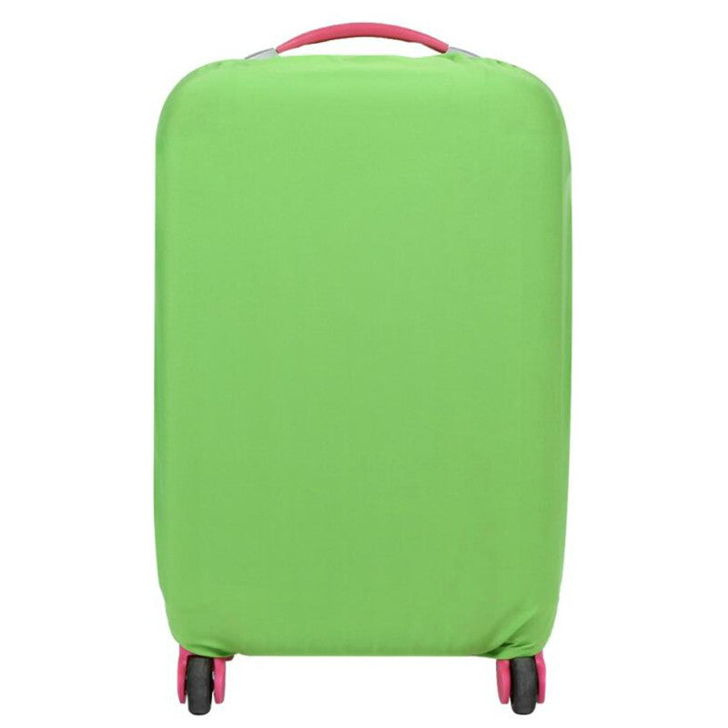 Protective Luggage Protectors Green On Carry-On