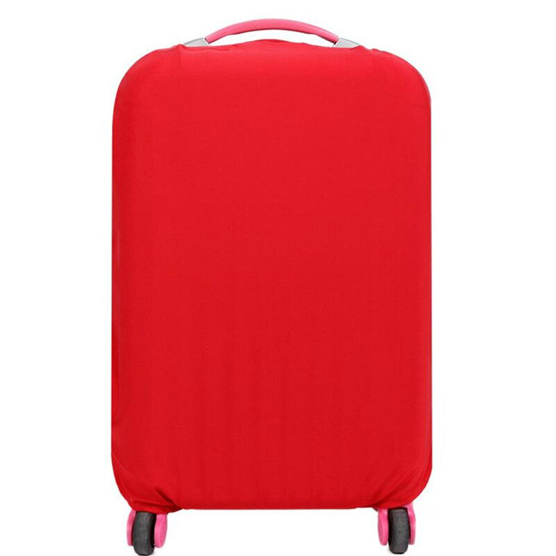 Protective Luggage Protectors Red On Carry-On