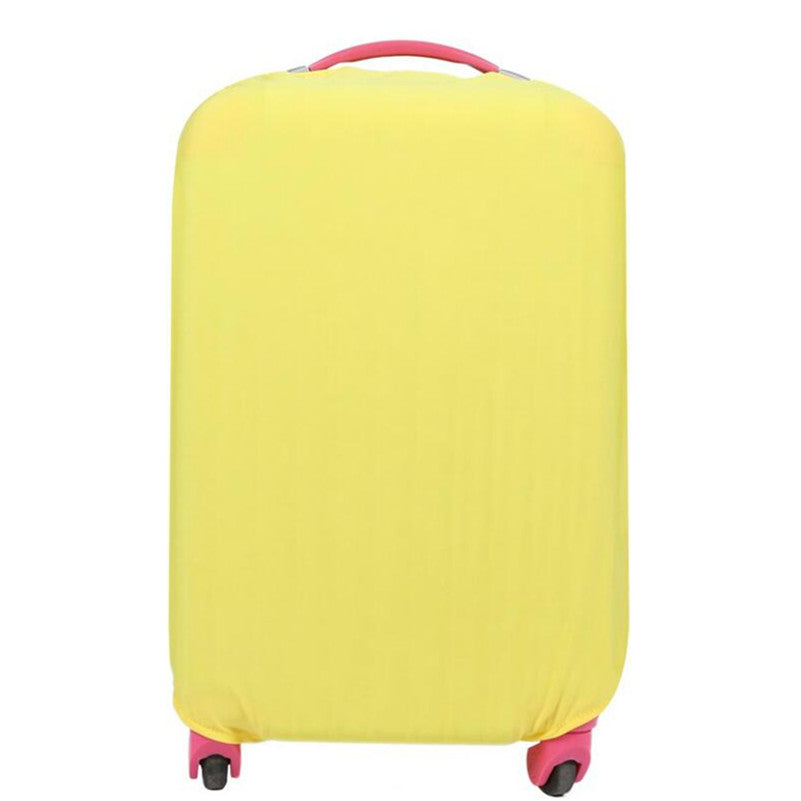 Protective Luggage Protectors Yellow On Carry-On