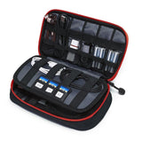 Digital Accessories Travel Bag / Organizer Black And Red
