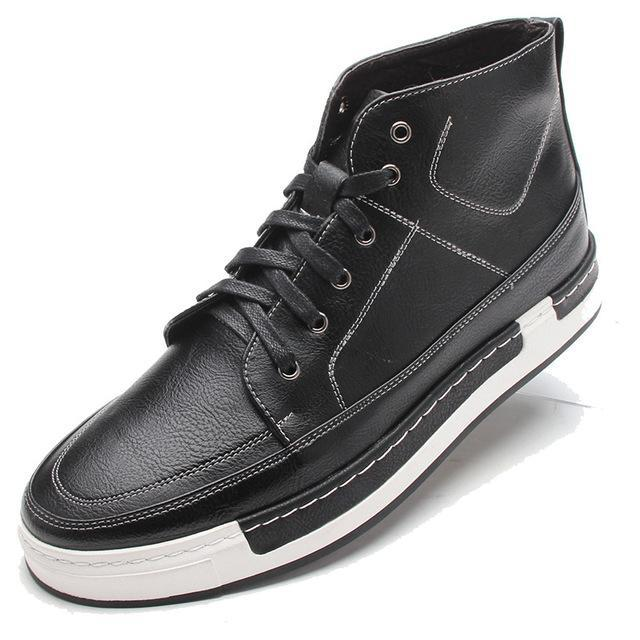 Lace-Up High-Tops Black