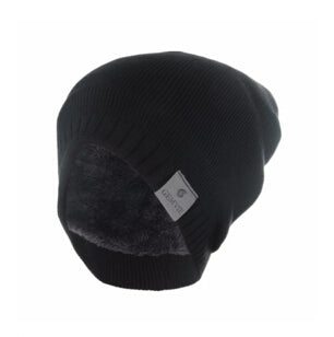 Men's Wool Winter Beanie Black