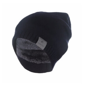 Men's Wool Winter Beanie Blue
