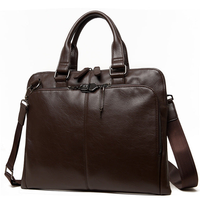 Slim Briefcase Brown