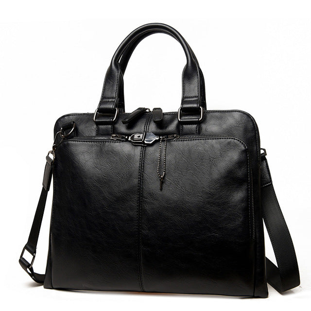 Slim Briefcase Black