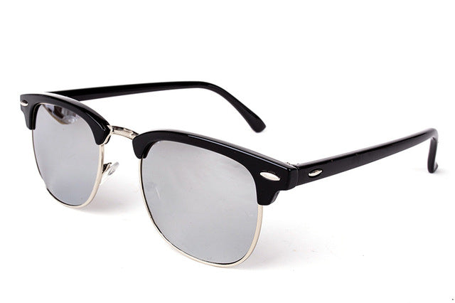 Half-Metal Sunglasses Black Mercury