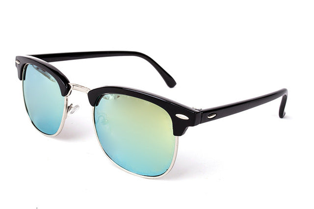 Half-Metal Sunglasses Black Gold