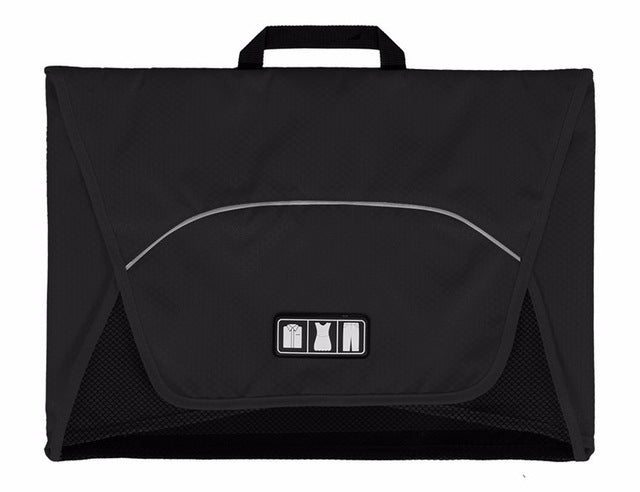 Fold And Pack Shirt Organizer Black