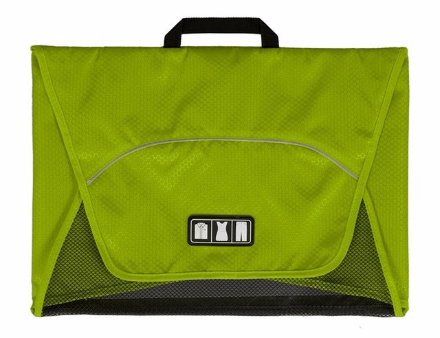 Fold And Pack Shirt Organizer Green