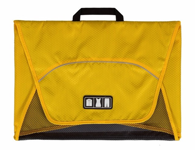 Fold And Pack Shirt Organizer Yellow