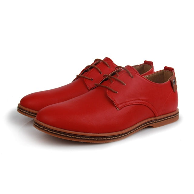 Casual Lace-Ups Red