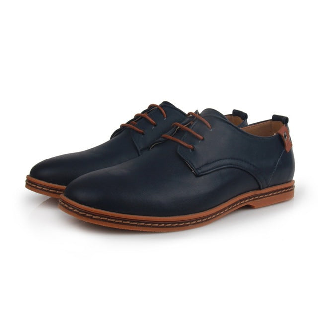 Casual Lace-Ups Blue
