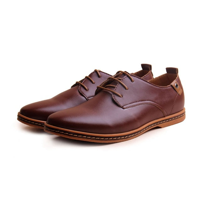 Casual Lace-Ups Brown