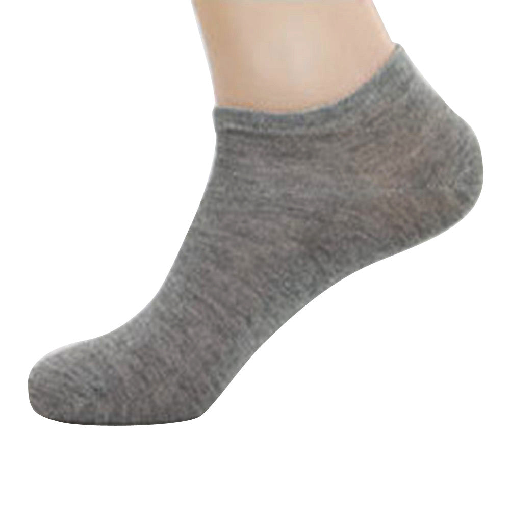 Men's 10-pack ankle sock grey