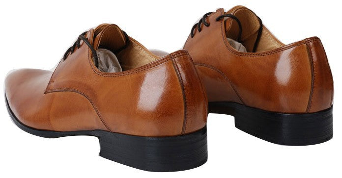 genuine leather dress shoes with rubber sole
