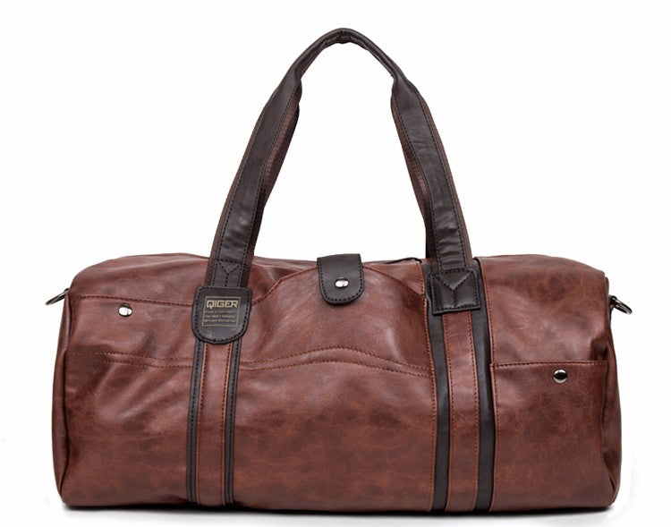 Soft Duffle Brown Front