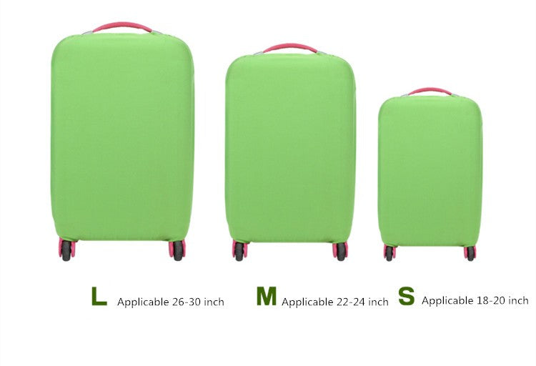 Protective Luggage Protectors Green Various Sizes On Carry-On